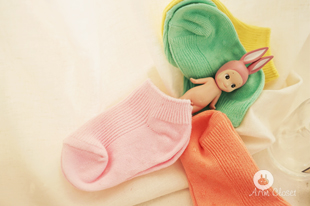살짝쿵 발목 뽐내는 날 : color -  colors baby socks (2ea 1set)
