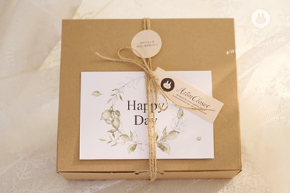 너에게 보내는 선물 :) - sensitivity gift packaging