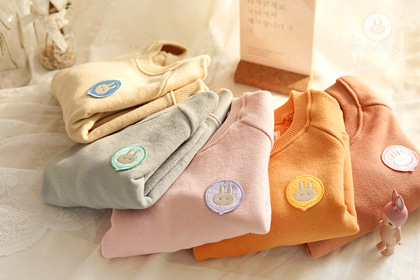 [new10%↓ 03.05, 11am까지] 몰라몰라 쪼꼬미 넘 귀여운걸 어째?! - 5color Arimcloset wappen cotton baby man to man